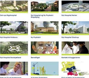 Hospitalsbyggrrier i Region Hovedstaden